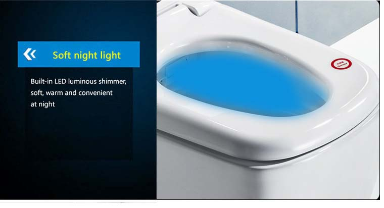 smart intelligent toilet seat electronic bidet cover